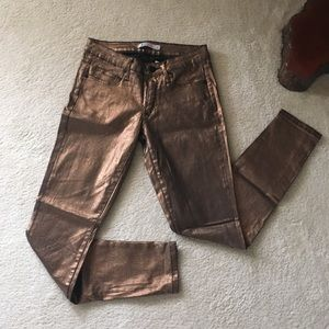 Just Fab Metallic Jeans